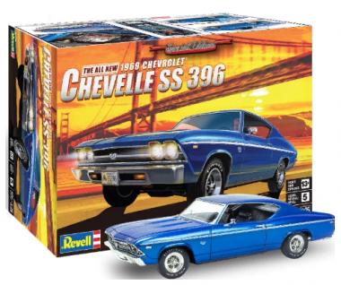 Автомобиль '69 Chevelle SS 396 1:25