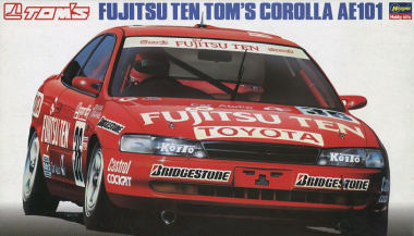 Fujitsu Ten Tom`s Corolla AE101 1:24