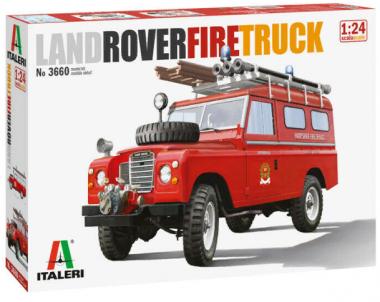 Land Rover Fire Truck 1:24