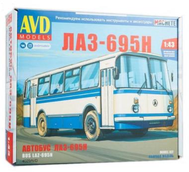 Автобус ЛАЗ-695Н 1:43
