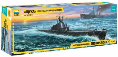 Советская подводная лодка Щука звезда