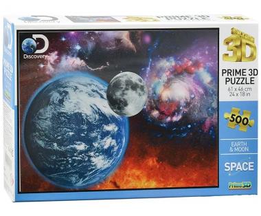Пазл «Космический пейзаж» 500 элементов