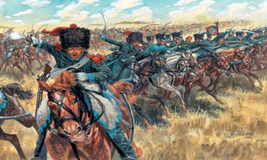 NAPOLEONIC WARS - FRENCH LIGHT CAVALRY 1:72