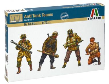 Солдаты WWII - Anti Tank Teams 1:72