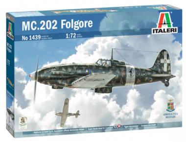 Самолет MC.202 Folgore 1:72
