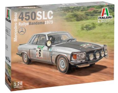 Mercedes-Benz 450SLC Rallye Bandama 1979 1:24