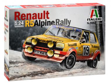 Renault R5 Alpine Rally 1:24