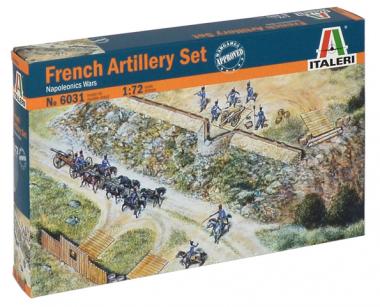 Солдаты FRENCH ARTILLERY SET (NAP.WARS) 1:72