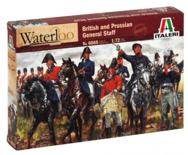 British & Prussian Allied General Staff 1:72