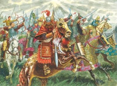 Китайская кавалерия XIII век 1:72