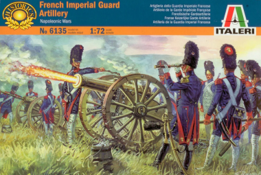 FRENCH IMPERIAL GUARD ARTILLERY (NAP. WARS) 1:72