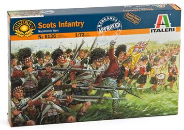 Scots Infantry Napoleonic Wars 1:72