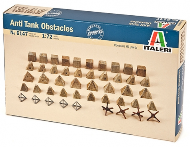 Anti tank obstacles 1:72