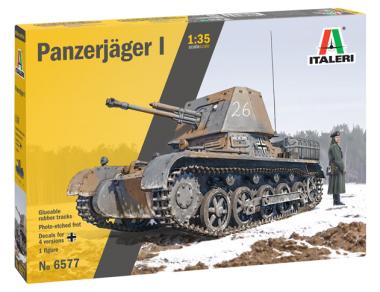 Танк Panzerjäger I 1:35