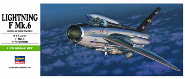 Самолет LIGHTNING F Mk.6 B15 1:72