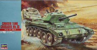 Крейсерский танк CRUSADER Mk.III 1:72