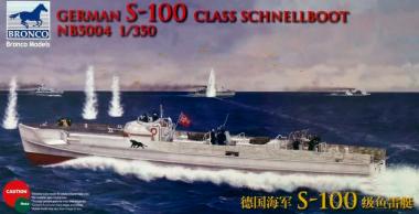 German S-100 Class Schnellboot 1:350