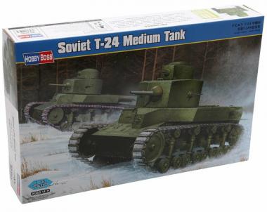 Танк Soviet T-24 Medium Tank 1:35