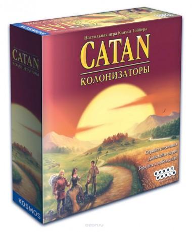 настольная игра Колонизаторы 4-е издание (Catan)