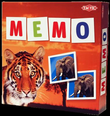 Мемо дикие животные