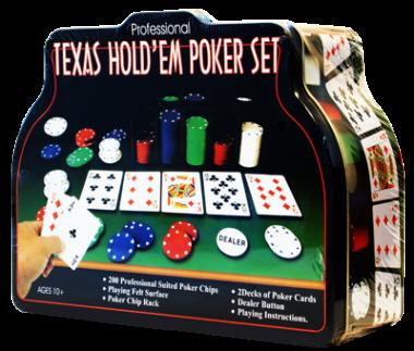 Покерный набор в коробке 200