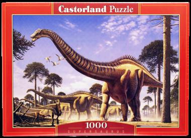 Castorland. Пазл 1000 Динозавры