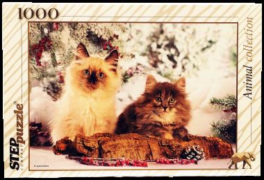Пазл «Кошки» 1000