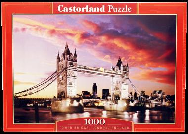 Пазл «Мост Тауэр». Castorland 1000