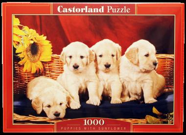 Пазл «Щенки». Castorland 1000