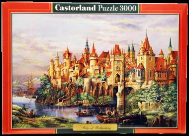 Пазл «Город». Castorland 3000