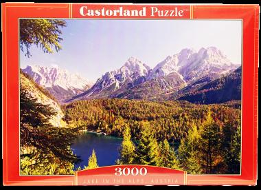 Пазл «Озеро в Альпах» 3000