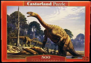 Пазл «Динозавры». Castorland 500 элементов