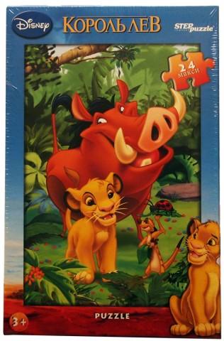 Step Puzzle 24 Король Лев