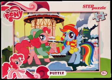 «Мой маленький пони». Step Puzzle 104