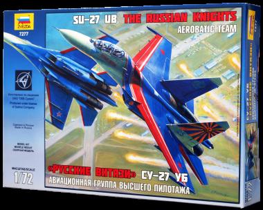 Самолет Су-27 Русские витязи Сборная модель
