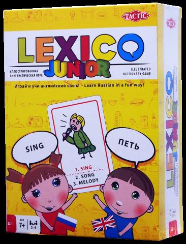 Учим английский для детей LEXICO Junior