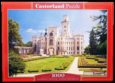 Пазл «Замок.Чехия». Castorland