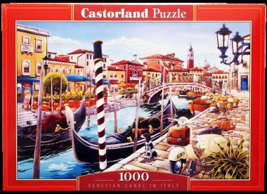 Пазл Венецианский канал 1000