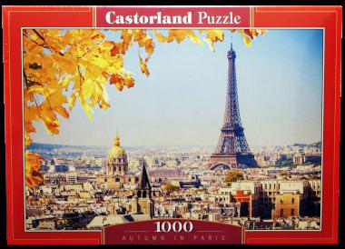 Осень в Париже пазл