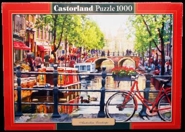 Пейзаж Амстердам пазл