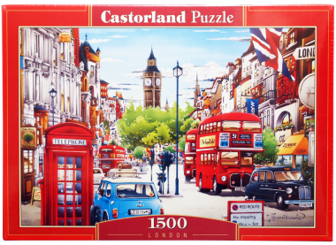 Пазл «Лондон». Castorland