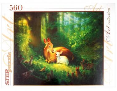 Пазл В лесу Step Puzzle 560
