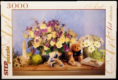 Пазл «Цветы»