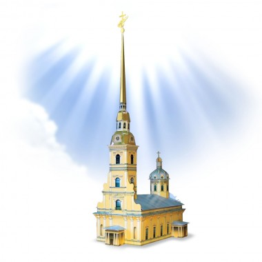 Петропавловский собор Умная бумага