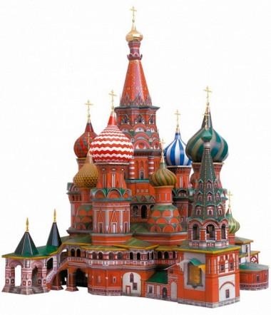 Храм Василия Блаженного модель