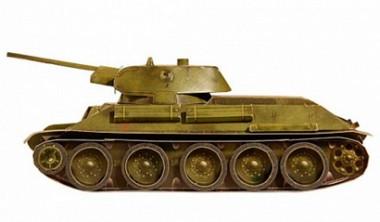 Танк Т-34 Умная бумага