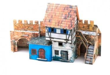 Дом у стены Умная бумага