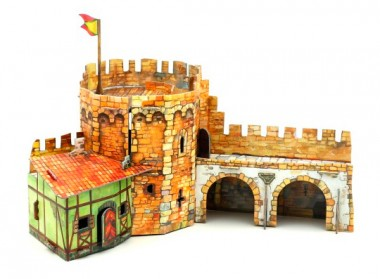 Угловая башня Умная бумага