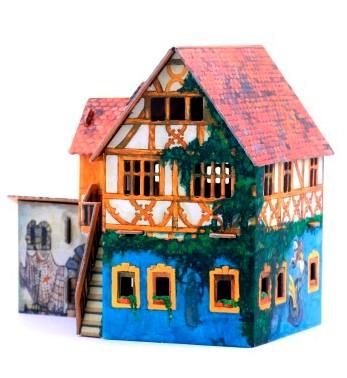 Дом с кораблем Умная бумага