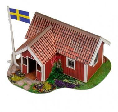 Модель Шведский домик